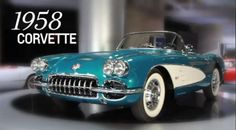 General Motors CEO to auction off personal '58 Chevrolet Corvette to help Detroit charity