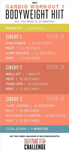 52 Intense Home Workouts To Lose Weight Fast With Absolutely No Equipment!