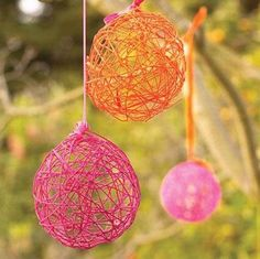 Home-Dzine - Make your own christmas tree decorations with wool