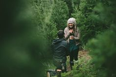Inspired by This Christmas Mountain Proposal by Michael James Photo Studio - Inspired By This
