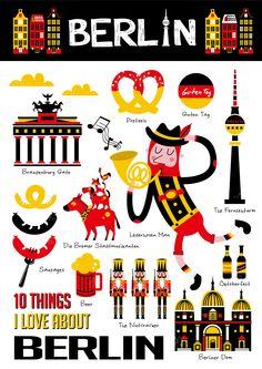 10 Things I Love About BERLIN 1.慕尼黑啤酒節 ●about 德國皮革馬褲 ( …