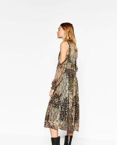 FLORAL DRESS-DRESSES-WOMAN   ZARA United States