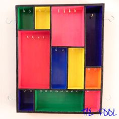 Multi-colored Jewellery Organizer