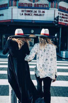 Los Angles fashion girls