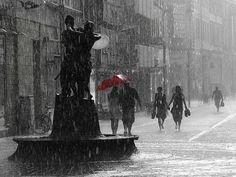 It's raining, bless the sky.