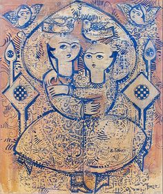 sadegh tabrizi paintings.  persian painting