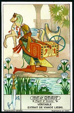 Liebig Tradecard S1280 - Isis & Osiris #2 | Flickr - Photo Sharing!