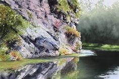 Jill Poyerd Watercolors - Watercolor Landscapes 1