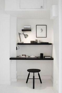 Minimalist cool home office Design Ideas 47 Adorable Minimalist Home Offices Pinterest 47 Best Minimalist Home Offices Images Office Home Desk Office Decor
