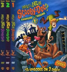 What's New Scooby-Doo: Complete Seasons 1-3 [6 Discs] [DVD]