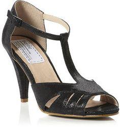 BERTIE T-Bar Heeled Sandal