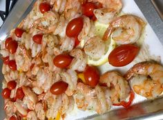 Sheet Pan Meal: Roasted Shrimp Salad
