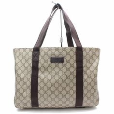 95547bc3c5b3  FORSALE Authentic Gucci Tote Bag GG plus Browns PVC 171838 -  31