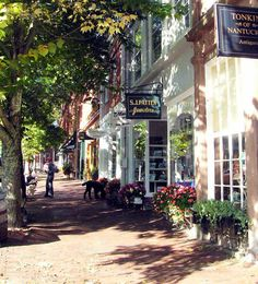 Nantucket Historic District - Nantucket Island, M.A.  Loved Nantucket.  First time there this summer for baby brother's wedding!  Amazing!  I'll be back!
