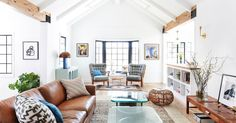 A beautiful 1920s Silverlake bungalow, redesigned by L.A. based interior designer Stefanie Stein