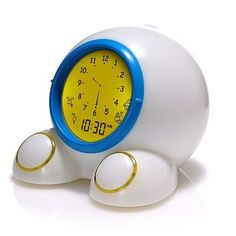 Alarm clock that tells your kid when he/she can get out of bed... genius!