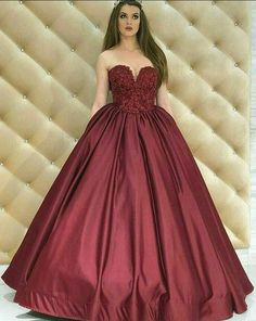 Elegant Prom Dress,Stain Prom Dresses,Sweetheart Ball Gown Prom
