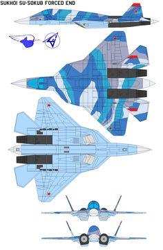 Sukhoi SU-50kub forced end by bagera3005.deviantart.com on @deviantART