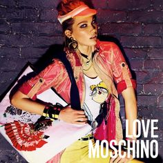 Irina Nikolaeva for Moschino Franco Moschino, Ny Times, My Outfit, Shirt Style, Ready To Wear, Luxury Fashion, Fashion Accessories, Campaign, Spring Summer