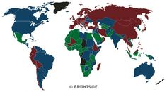 There are Only Four Passport Colors inthe World, and This isthe Reason Why