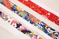 How to make your own Washi tape!