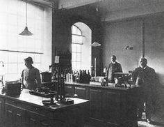 The Fanøgade laboratory of Chr. Hansen A/S. 1907.
