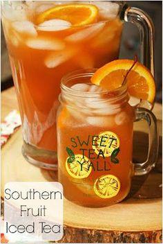 Southern Fruit Iced Tea #BrunchWeek