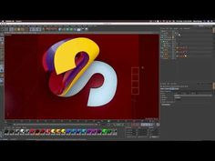 Cinema 4D Tutorial - Organic Blob - YouTube