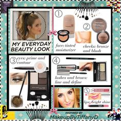 """My TiffanyD Everyday Beauty Look"" by marlo-tinkham ❤ liked on Polyvore"