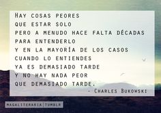 charles bukowski poemas - Buscar con Google