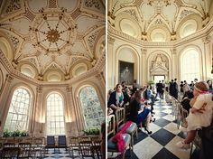 stunning setting--check out the whole wedding
