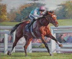 Frankel QEII Champions Day - Ascot - Racehorse Horse Racing Art Oil Painting | #1476258961