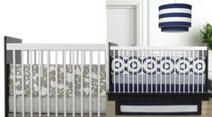 modern nursery bedding from Oilo Studio.