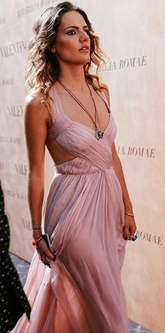 Grecian flowy pastel dresses