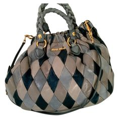 MIU MIU Multicolour Leather Handbag