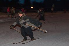 Skifahren wie damals