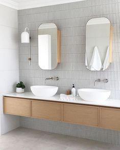 Home Interior Wood Super slim shaker cabinet.Home Interior Wood Super slim shaker cabinet Diy Bathroom, Laundry In Bathroom, Bathroom Renos, Bathroom Faucets, Small Bathroom, Master Bathroom, Washroom, Bathroom Remodeling, Bathroom Lighting