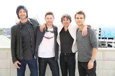 Os irmãos de #sobrenatural e #tvd em #cwsdcc!