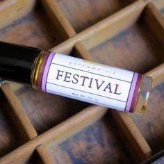 Festival Perfume Oil - Long Winter Soap Co.