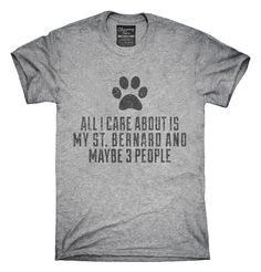 Funny St Bernard T-shirts, Hoodies,