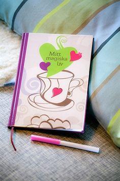 Dagbok/anteckningsbok Mitt magiska liv