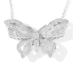 I absolutely adore this Butterfly Necklace! :)