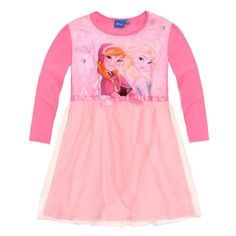 Going to bed won't be a problem anymore when your little Frozen fan can slip into this pretty Disney Frozen Princess nightdress! Fast & Free Delivery!