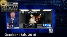 Full Show - HILLARY CAUGHT CALLI Published on Oct 18, 2016 On this Tuesday, Oct. 18th 2016 broadcast of the Alex Jones Show, radio host and author Dr. Michael Savage joins us to discuss the upcoming and final Presidential Debate. Also, documentary filmmaker Joel Gilbert covers the latest WikiLeaks dump and what it means for the elite. Filmmaker and entrepreneur Gary Heavin shares his experience in Haiti where he took some of the Infowars crew to deliver food and water to the struggling…