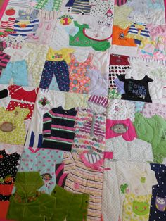 First Year Quilts | Memory Quilts by Lauryn Martin