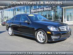 Certified Used 2013 Mercedes-Benz C-Class C250 Sport RWD Sedan in Los Angeles
