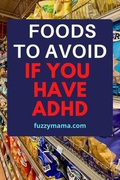 Healthy Lunches for ADHD Kids | The food we eat can really affect our behavior and mood. Pack a better lunch for your ADHD kiddo by avoiding these foods. Everyone's body's are different but there are some foods that across the board should be avoided.