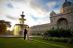 Wedding at The Royal Exhibition Buildings, Carlton Gardens.  Photo by Megan Aldridge Photography http://www.meganaldridge.com.au/