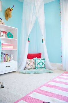 Design Reveal: Equestrian Inspired Tween Room. Turquoise RoomTween BedsTween  Girls Bedroom ...