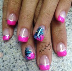 nails.quenalbertini: Nail art by dndang